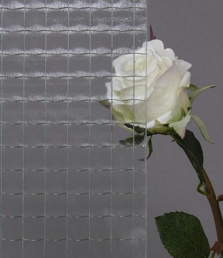 My Glas Shop - Drahtglas - weiss (7 mm)